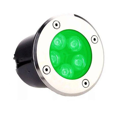 Balizador LED 5w De Chão - Verde