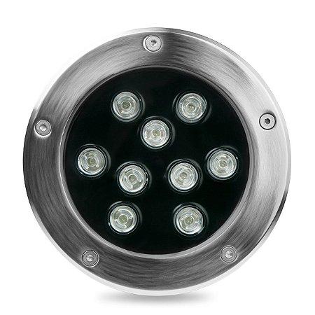 Balizador LED 9w De Chão - Verde