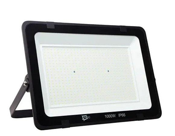 Refletor LED 1000w Holofote SMD Eco Bivolt - Branco Frio