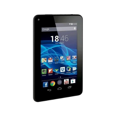 Tablet Multilaser M7s 1Gb 16Gb 7 Quad Core Tela 7 - NB316, NB317