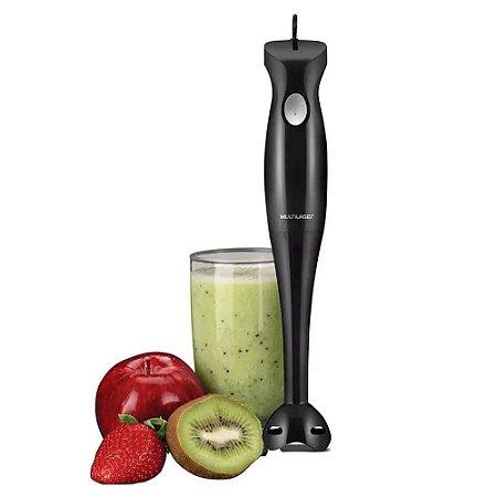 Mixer Multilaser Gourmet  200w + Copo 500 ml - Preto