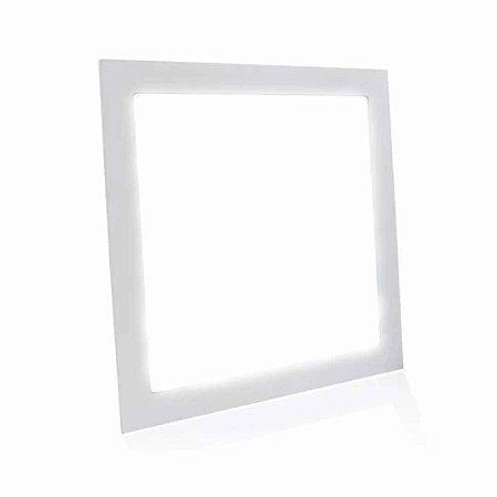 Painel Plafon LED 24w Quadrado Embutir Bivolt - Branco Frio