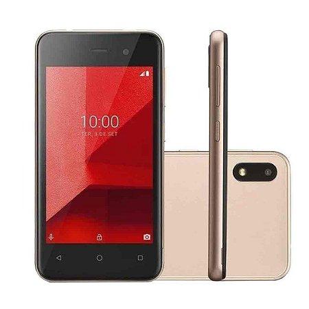Smartphone Multilaser E Lite P9102 16Gb Quad Core - Dourado