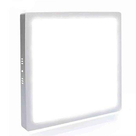 Painel Plafon LED 48w 60x60 Quadrado Sobrepor - Branco Neutro