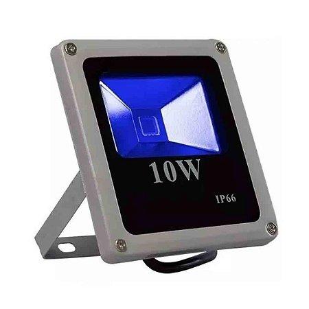 Refletor LED 10w COB Bivolt - Azul