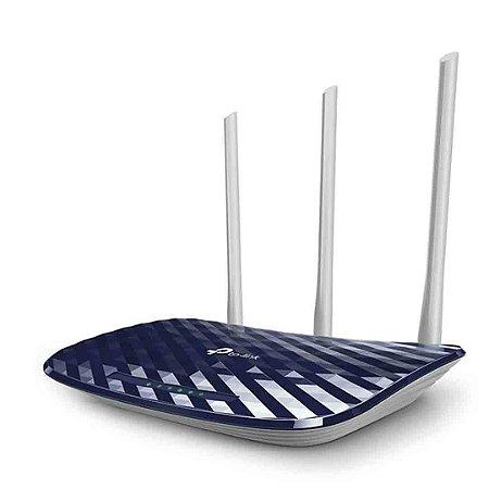 Roteador Wi-fi Tp-Link 3 Antenas  Archer C20 AC750