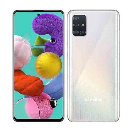 Smartphone Samsung Galaxy A51 4 Gb 128 Gb Octa Core Cam 48MP - Branco