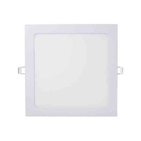 Painel Plafon Led 18w Quadrado Embutir Bivolt Avant - Branco Frio