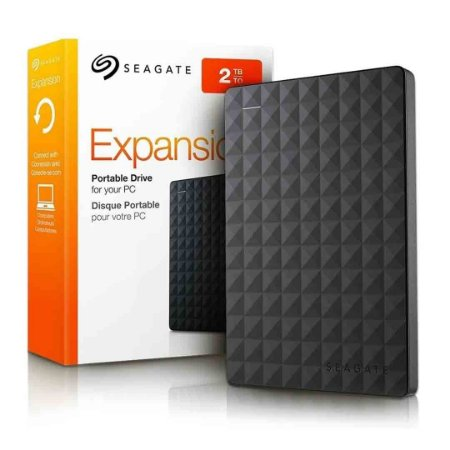 Hd Externo Seagate 2Tb Expansion Usb 3.0/2.0 Fator 2,5""
