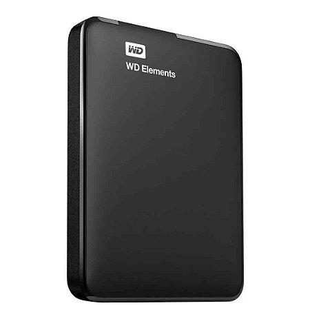Hd Externo 4Tb Wd Elements Western Digital Portátil Usb 3.0