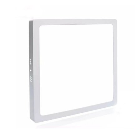 Painel Plafon Led 12W Quadrado Sobrepor - Branco Neutro 4200k - Avant