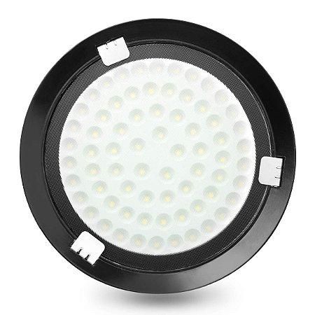 Luminária LED 50W Industrial Ufo High Bay Branco Frio 6500K - Bivolt
