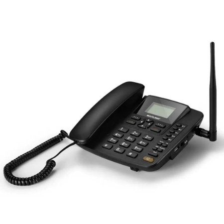 Telefone Fixo Rural Com Internet Multilaser Quadriband - RE504