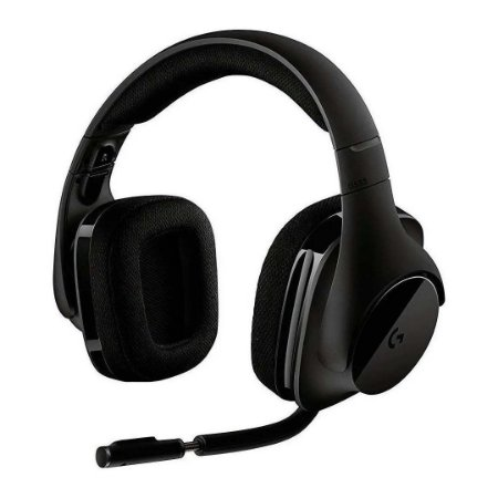 Headset Gamer Sem Fio Logitech G533 7.1 Dolby Surround