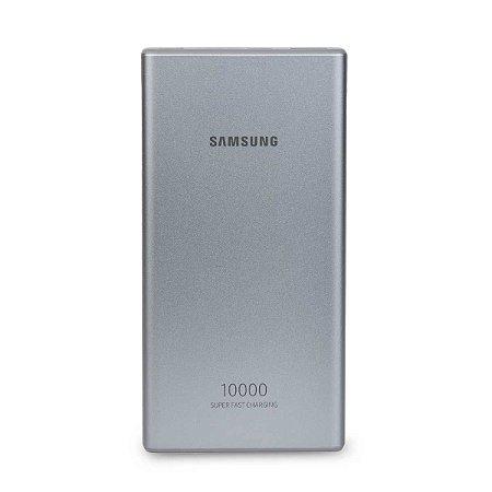 Carregador Portátil Carga Rápida 10.000 mAh Samsung - Prata