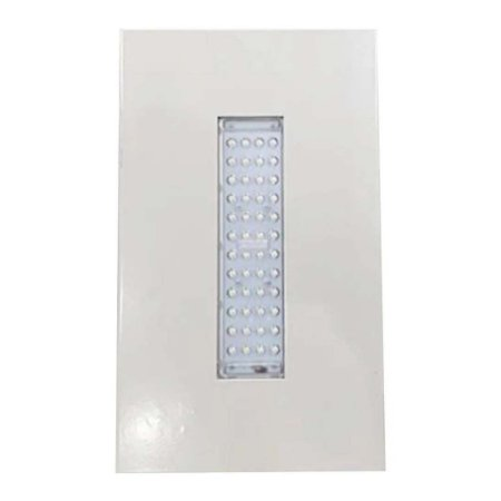 Luminária LED de Posto HPC3 Econômica Embutir 50W - Branco Frio