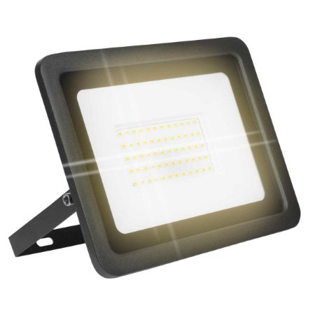 Refletor Led Eco SMD 100w IP66 - Branco Quente
