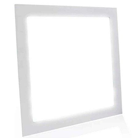 Painel Plafon Led 42w 40x40 Quadrado Branco Frio - Potente e Econômico