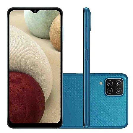 """Smartphone Celular Galaxy Samsung A12 Dual Tela 6,5"""" 4GB RAM"""