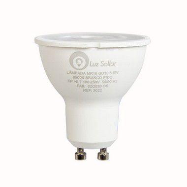 Lâmpada Led Dicroica GU10 6,5w Branco Frio - Econômico e Potente