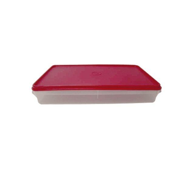 Tupperware Refri Box 2 1,5 litros Tampa Vermelha