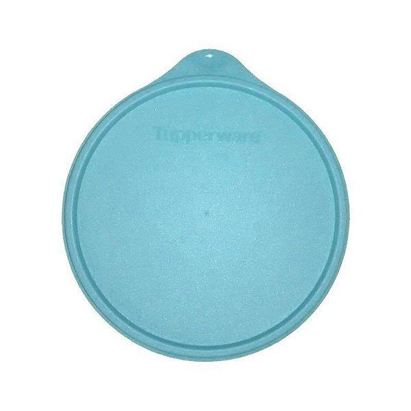 Tupperware Tampa Hermética Azul para Caixa de Armazenagem 16 cm