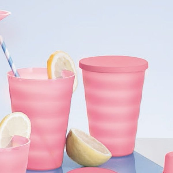 Tupperware Copo Murano 500ml Rosa Quartzo