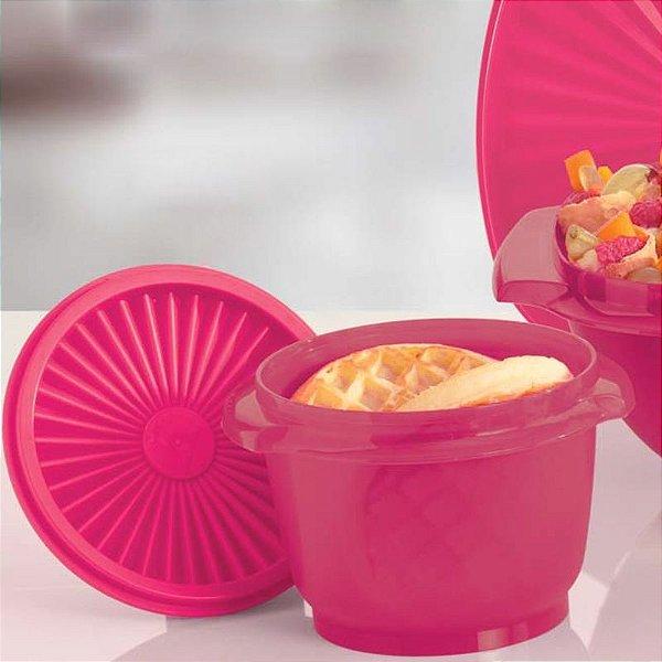 Tupperware Tigela Sensação 600ml Rosa Escuro