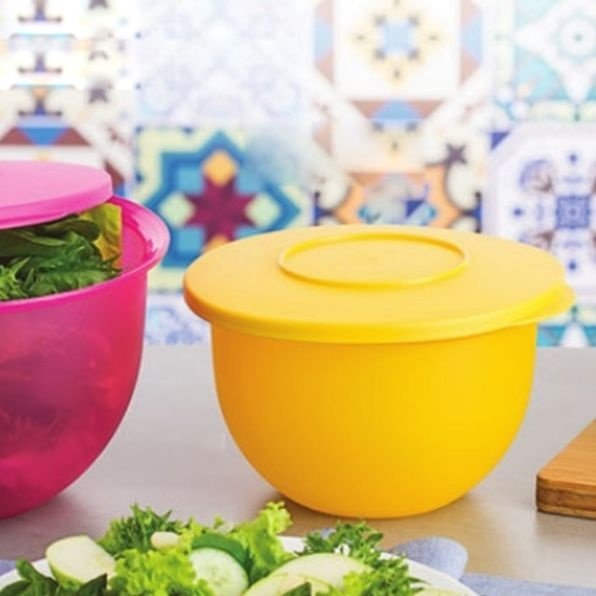 Tupperware Tigela Murano 1,3 litros Amarela