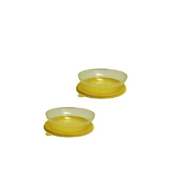 Tupperware Pragela 450ml Amarelo kit 2 Peças