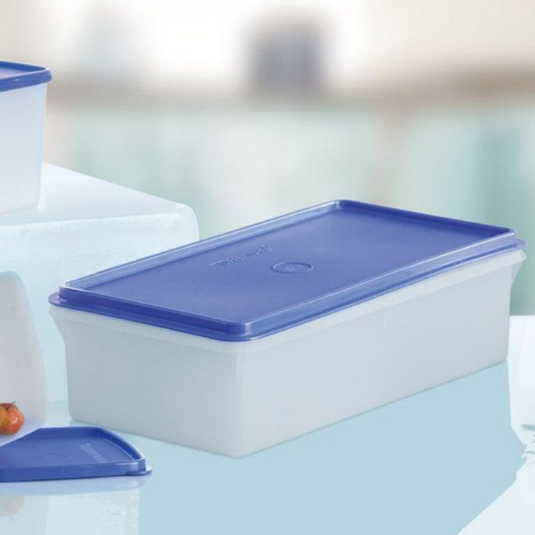 Tupperware Maxi Caixa 2,5 Litros Tampa Azul