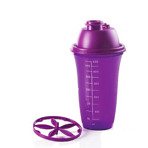 Tupperware Quick Shake 500ml Roxo