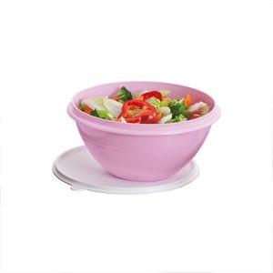 Tupperware Tigela Maravilhosa 1 litro Rosa Bebê