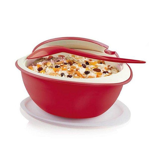 Tupperware Tigela Thermo 2,5 Litros Vermelho