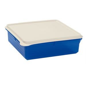 Tupperware Caixa Versátil Plus 2,5 litros Azul