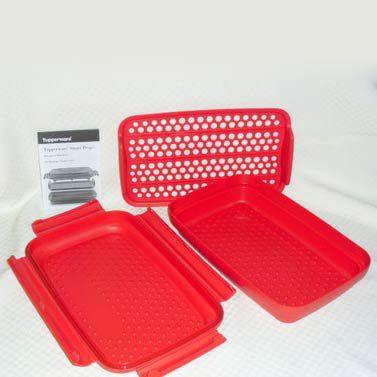 Tupperware Empanador Importado Vermelho
