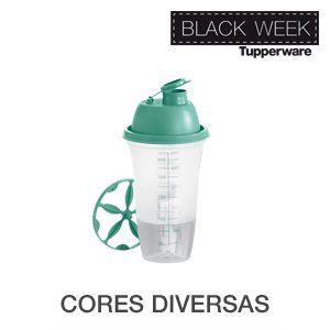 Tupperware Quick Shake 500ml Cores Diversas