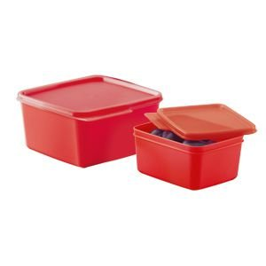 Tupperware Basic Line 500ml + 1,2 litro kit 2 peças