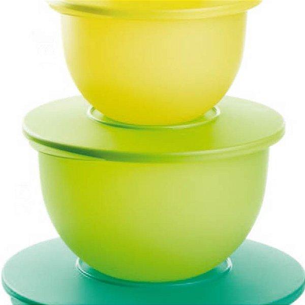 Tupperware Tigela Murano 2,5 Litros Verde Limão