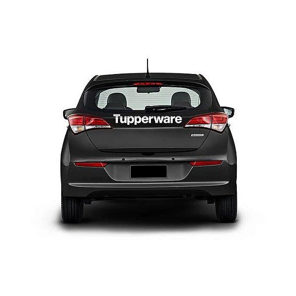 Adesivo Tupperware Traseira Carro