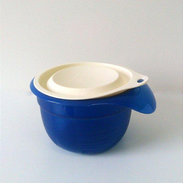 Tupperware Mini Tigela Batedeira Plus 650ml Azul