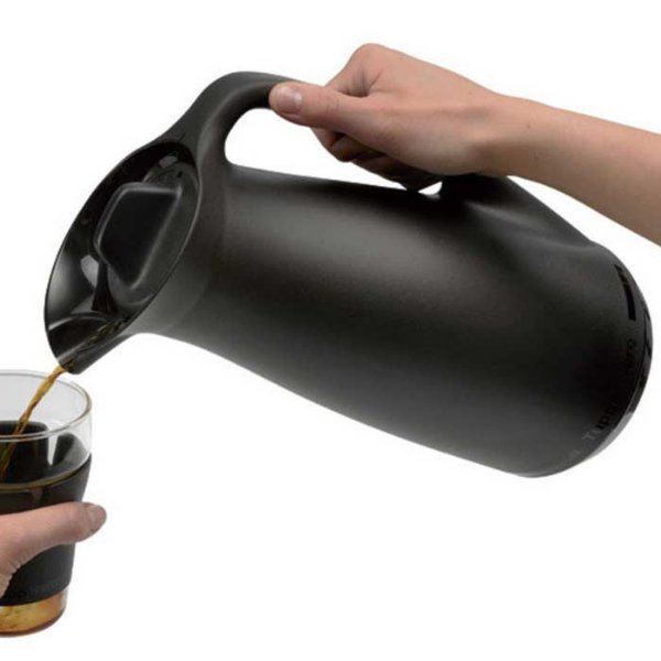 Tupperware Garrafa Térmica 1 litro Preto Café Chá