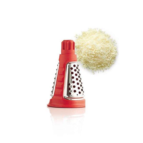 Tupperware Cone para Raspar Vermelho