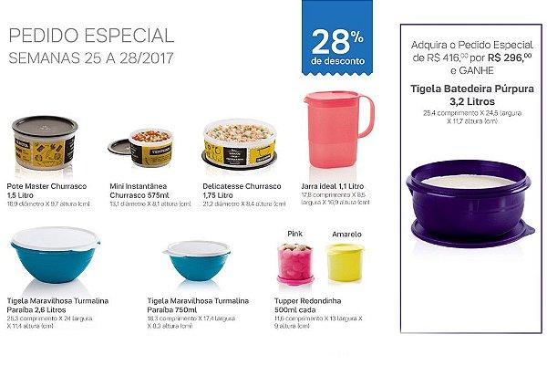 Tupperware Pedido Especial 07/2017 kit 8 peças + 1 grátis