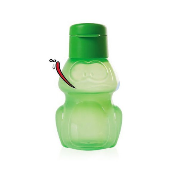 Tupperware Eco Kids Garrafa Sapo Verde 350ml