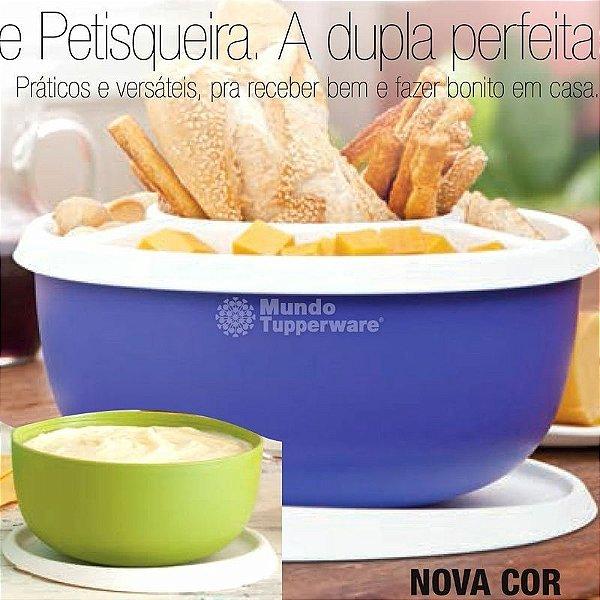 Tupperware Petisqueira Mágica + Toque Mágico 4300 ml + 550 ml Kit 3 peças