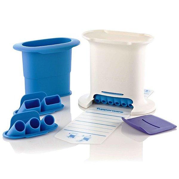 Tupperware Massa Express Azul Kit 6 peças
