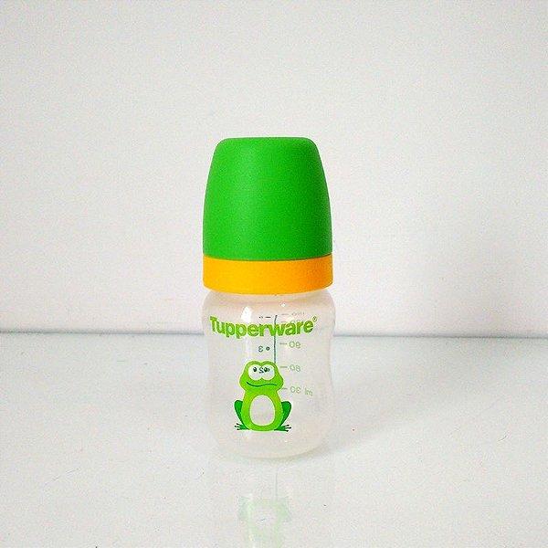 Tupperware Mamadeira Infantil Sapo 150ml Verde com 3 Fluxos