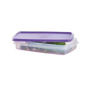 Tupperware Refri Box nº1 tampa Roxa 750ml