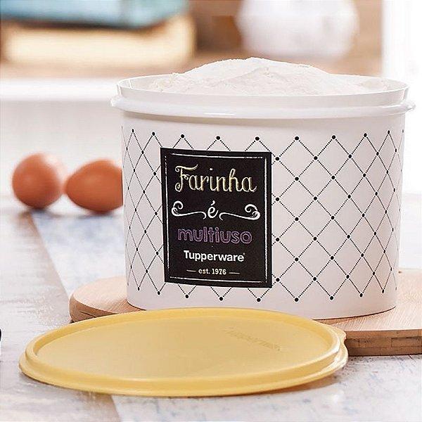 Tupperware Caixa Farinha 1,8 kg Linha Bistrô